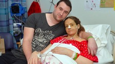 Emma Hopley is battling a rare autoimmune disease
