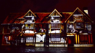 A street party and lightshow will celebrate 400 years of Shakespeare's legacy this weekend