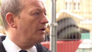 Labour MP Simon Danczuk said his behaviour was 'inappropriate'.