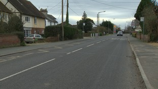 Tiptree in Essex where dangerous objects are being placed on local roads