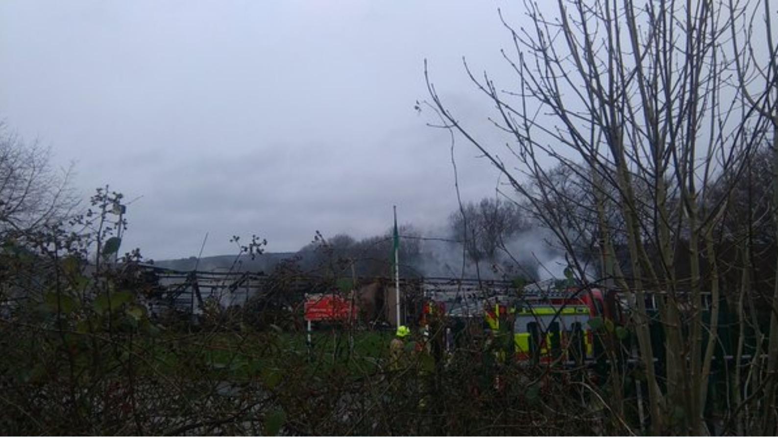 cwmbran school fire 39 devastating 39 for staff and pupils. Black Bedroom Furniture Sets. Home Design Ideas