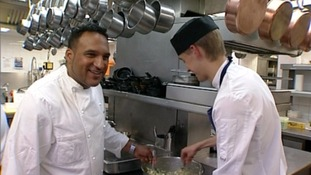Celebrity chef's final weekend at Gidleigh Park