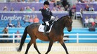Lee Pearson rides Gentleman in the Dressage Individual Championship