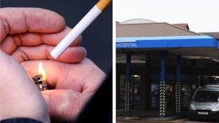 Hospital bans smoking to encourage smokers to quit