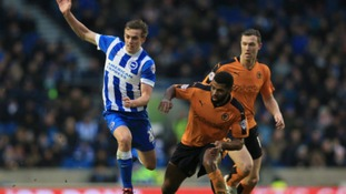 Wolves clinch victory after Brighton own goal