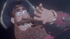 The Pirate Captain has been made by Aardman Animations