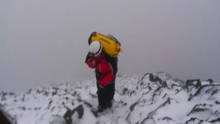 Walkers told to prepare for snow and ice as rescue teams make their first call-outs of the year