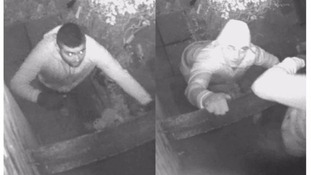 Hunt for burglars who broke in between Xmas and New Year.