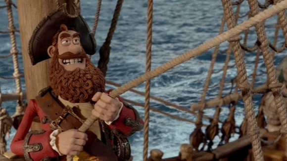 Hugh Grant stars in his first animated role as the bearded pirate