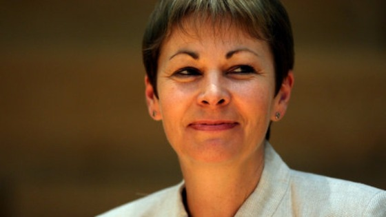 Caroline Lucas MP at the Green Party Conference