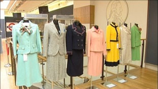 Margaret Thatcher's suits that will be sold at auction
