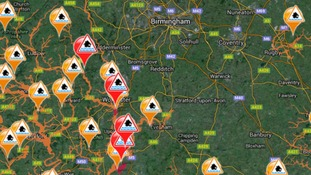 Four flood warnings in place as rain continues