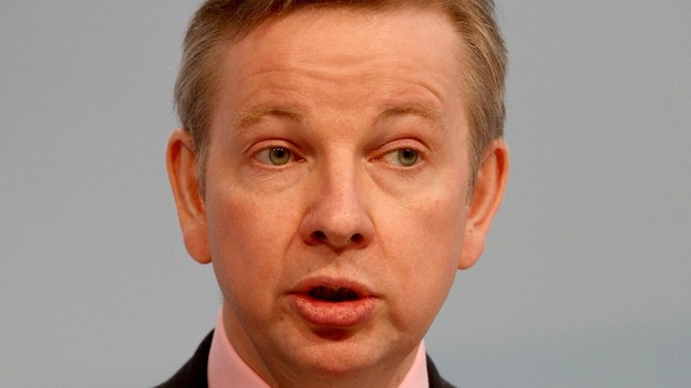 Education Secretary Michael Gove.
