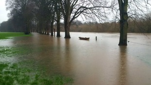 Six flood warnings in the Midlands now.