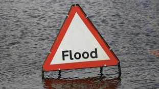 A flood warning is in force for Cogenhoe Mill in Northamptonshire.