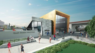 New transport hub for South Shields - an artist's impression