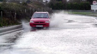 There have been flood warnings for parts of the West Country.