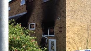 The scene of a fatal flat fire in Stubbington