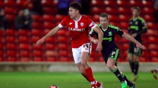 Paul Digby in action for Barnsley.