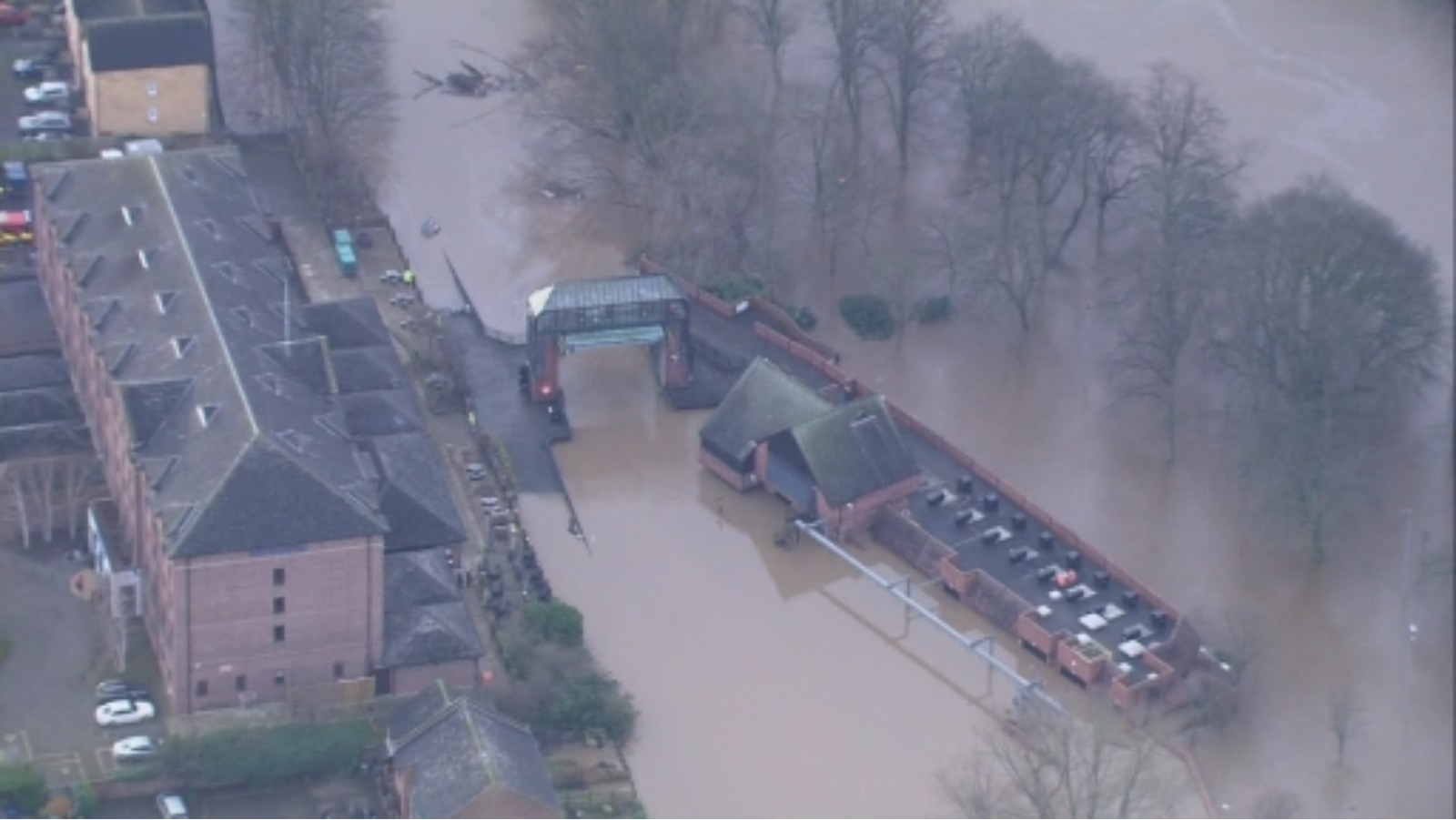 Environment Agency Defends Decision To Open York Flood
