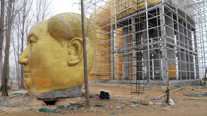 Giant statue of Mao built in poorest region of China