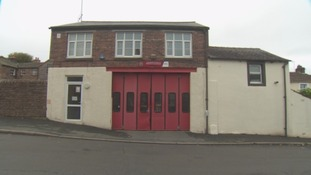Lazonby fire station