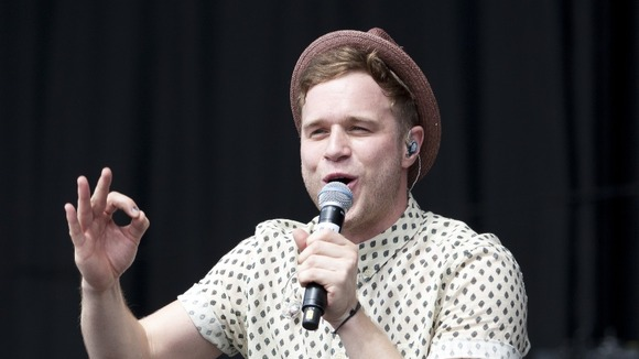 Pop star Olly Murs.