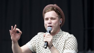 Pop star Olly Murs.