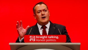 Michael Dugher MP speaks at the Labour conference