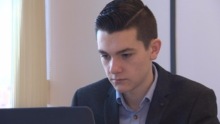 Teenage entrepreneur employs himself as an apprentice to avoid education rules