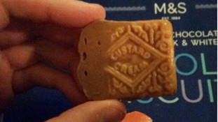 Marks & Spencer defends its luxury chocolate biscuits after customer says they're custard creams in disguise