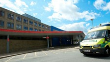 "Warrington and Halton Hospital has urged patients to use A&E only if their condition is ""life threatening"""