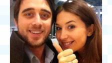 Alex Collins and Emma Cox