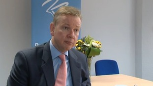 Education Secretary Michael Gove visited the first new school to open in Birmingham for 15 years today.