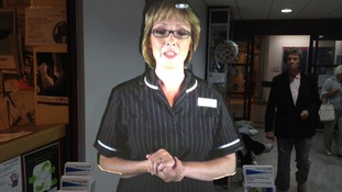 Bedford Hospital's new virtual nurse