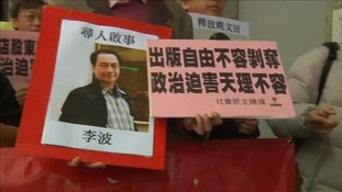 British man Lee Bo, 65, who has gone missing in Hong Kong