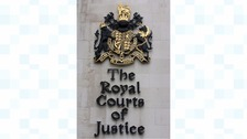 The Court of Appeal sits in London at the Royal Courts of Justice