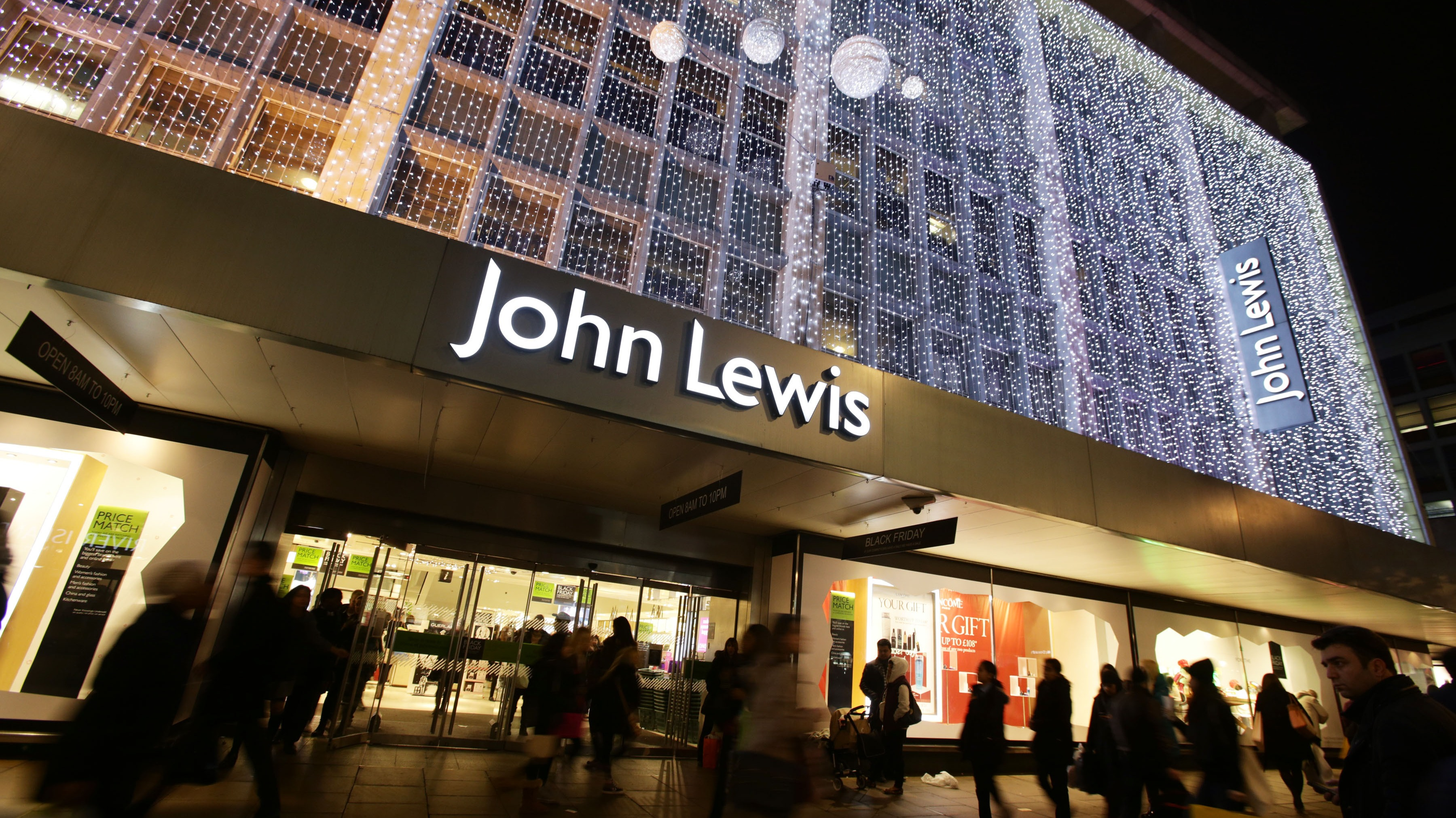 john lewis christmas sales boosted by online shopping itv news. Black Bedroom Furniture Sets. Home Design Ideas