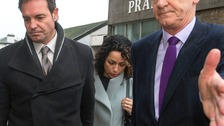 Eva Carneiro arrives at Croydon Employment Tribunal