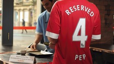 Pep's table is reserved