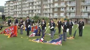 Merchant Navy veterans pay tribute