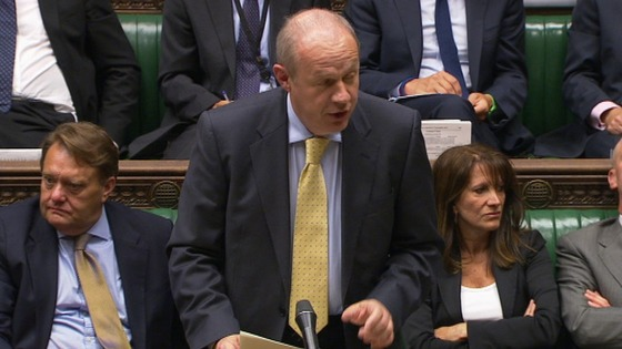 Damian Green addresses MPs
