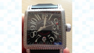 It is a Franck Muller design.