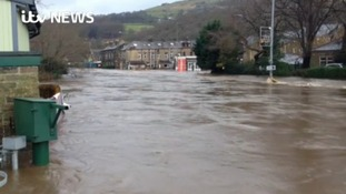 Devastated village slowly returns to life after floods
