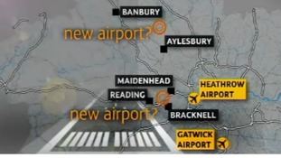 Row over new airport plans