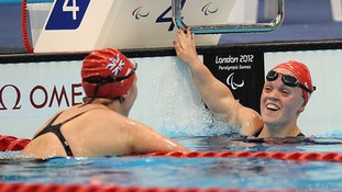 Natalie Jones Ellie Simmonds Paralympics great Britain