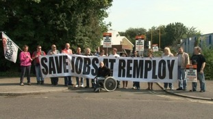 Remploy factory workers start 5-day strike