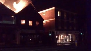 Fire, Uckfield High Street