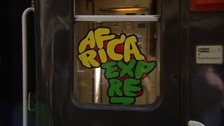 Africa Express train window
