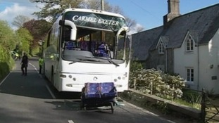 Man appears in court after fatal coach crash near Looe
